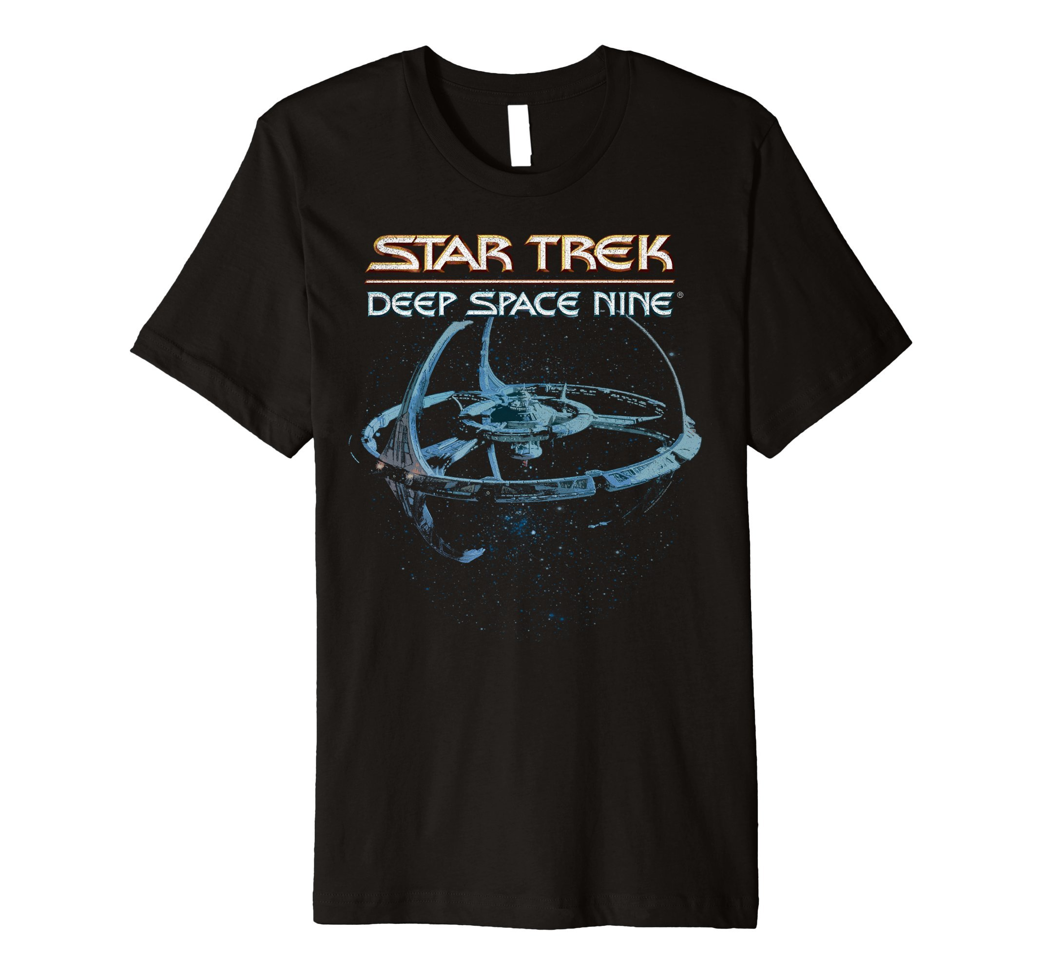 DS9 Space Station Logo Vintage Premium T-Shirt