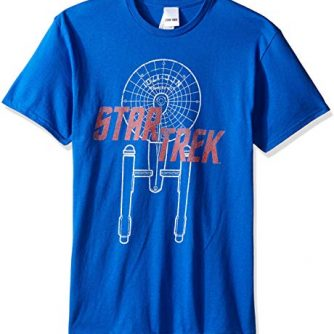 Star Trek Men's Excelsior Class T-Shirt